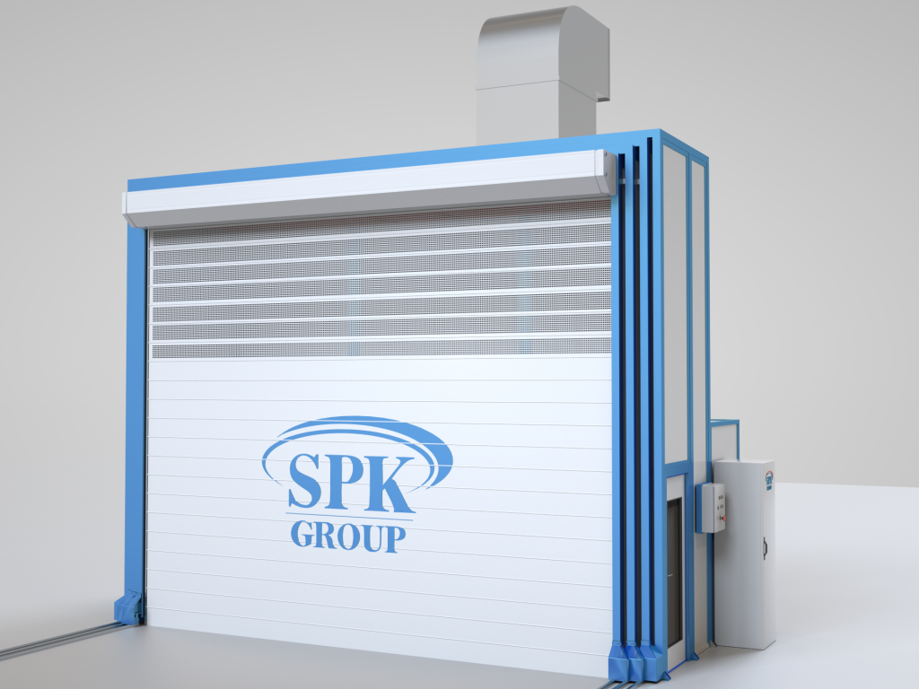 разборная окрасочная камера SPK Group